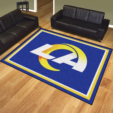 Picture of NFL - Los Angeles Rams 8'x10' Plush Rug