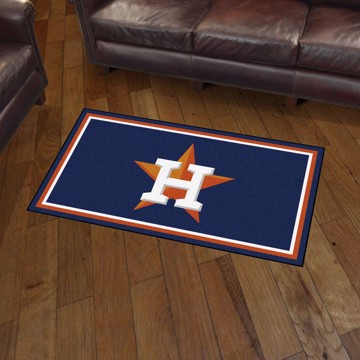 Picture of MLB - Houston Astros 3'x5' Plush Rug