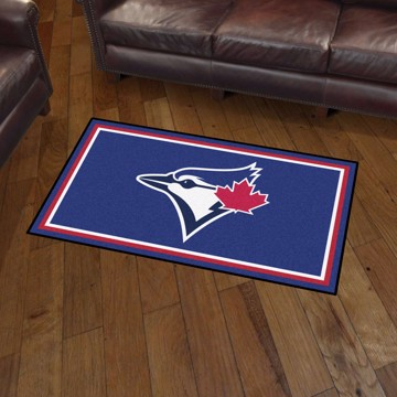 Picture of MLB - Toronto Blue Jays 3'x5' Plush Rug