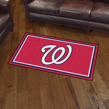 Picture of MLB - Washington Nationals 3'x5' Plush Rug