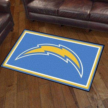 Picture of NFL - Los Angeles Chargers 3'x5' Plush Rug