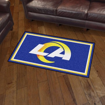 Picture of NFL - Los Angeles Rams 3'x5' Plush Rug
