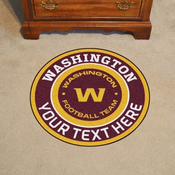 Picture of NFL - Washington Football Team Personalized Roundel Mat