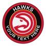 Picture of NBA - Atlanta Hawks Personalized Roundel Mat Rug