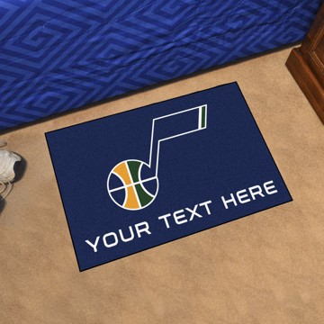 Picture of NBA - Utah Jazz Personalized Starter Mat