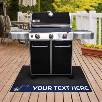 Picture of NBA - Utah Jazz Personalized Grill Mat
