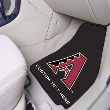 Picture of Arizona Diamondbacks Personalized Carpet Car Mat Set
