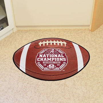 Picture of Alabama 2020-21 National Champions Football Rug