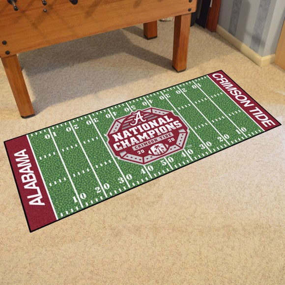 Picture of Alabama 2020-21 National Champions Football Field Runner