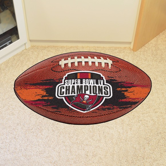 Picture of NFL - Tampa Bay Buccaneers Super Bowl LV Champions Football Rug