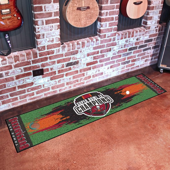 Picture of NFL - Tampa Bay Buccaneers Super Bowl LV Champions Putting Green Mat