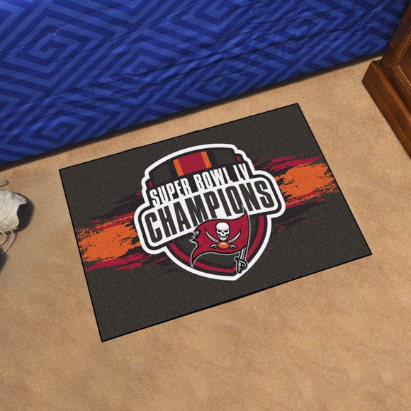 Picture of NFL - Tampa Bay Buccaneers Super Bowl LV Champions Starter Mat
