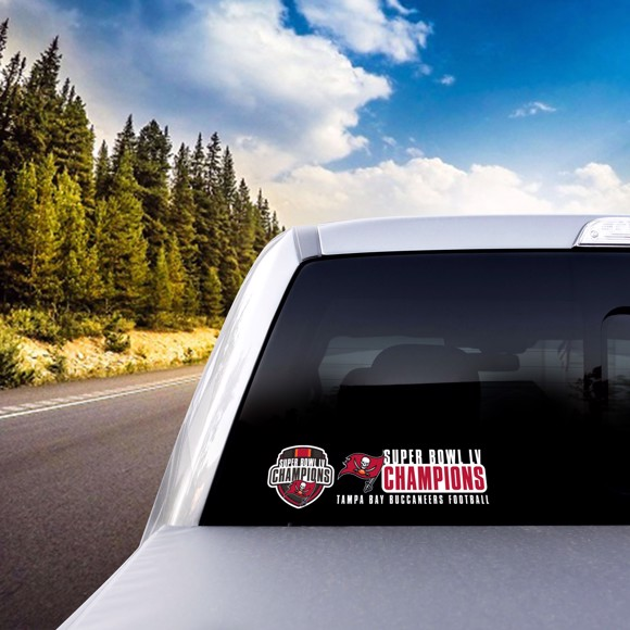 Picture of NFL - Tampa Bay Buccaneers Super Bowl LV Champions Team Slogan Decal