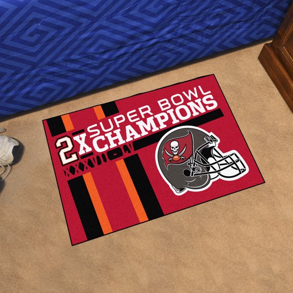 Picture of NFL - Tampa Bay Buccaneers Super Bowl LV Champions Dynasty Starter Mat