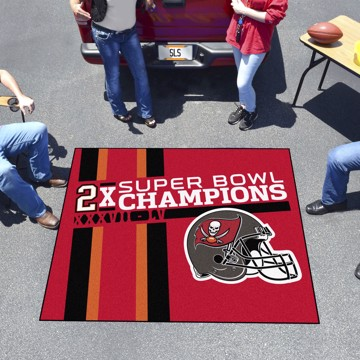 Picture of NFL - Tampa Bay Buccaneers Super Bowl LV Champions Dynasty Tailgater Mat