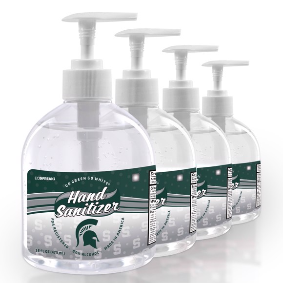 Picture of Michigan State 16 oz. Hand Sanitizer