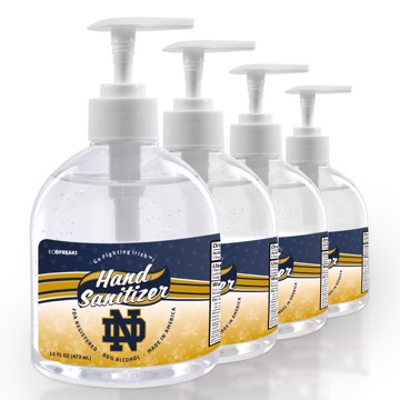 Picture of Notre Dame 16 oz. Hand Sanitizer