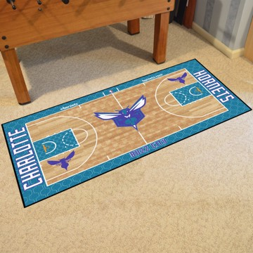 Picture of NBA - Charlotte Hornets NBA Court Large Runner