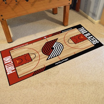 Picture of NBA - Portland Trail Blazers NBA Court Large Runner