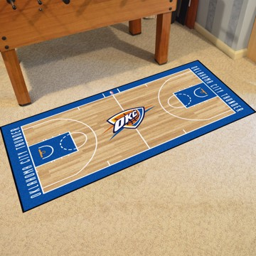 Picture of NBA - Oklahoma City Thunder NBA Court Large Runner