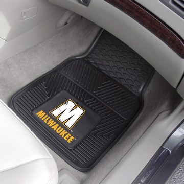 Picture of Wisconsin-Milwaukee 2-pc Vinyl Car Mat Set