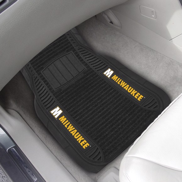 Picture of Wisconsin-Milwaukee 2-pc Deluxe Car Mat Set