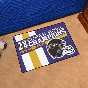 Picture of Baltimore Ravens Dynasty Starter Mat