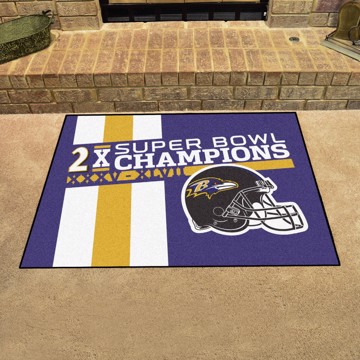 Picture of Baltimore Ravens Dynasty All-Star Mat