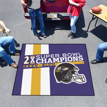 Picture of Baltimore Ravens Dynasty Tailgater Mat