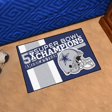 Picture of Dallas Cowboys Dynasty Starter Mat