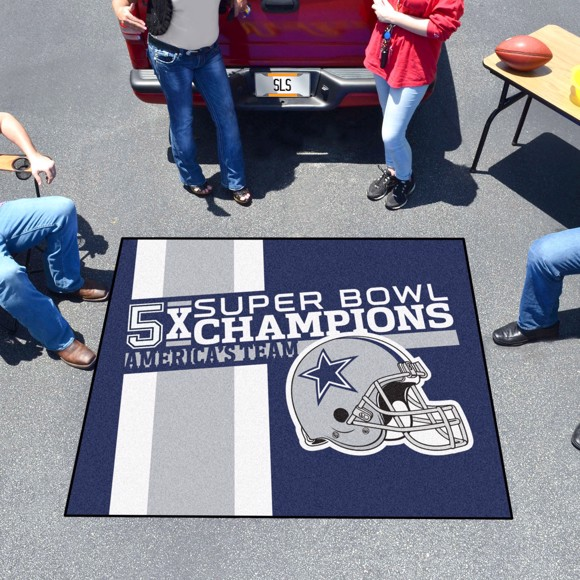 Picture of Dallas Cowboys Dynasty Tailgater Mat
