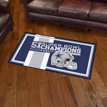 Picture of Dallas Cowboys Dynasty 3x5 Rug