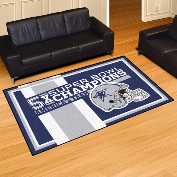 Picture of Dallas Cowboys Dynasty 5x8 Rug