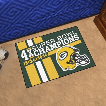 Picture of Green Bay Packers Dynasty Starter Mat