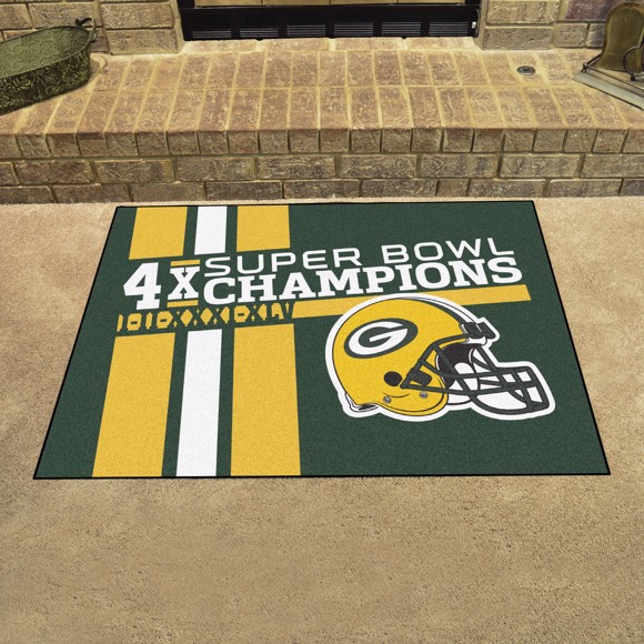 Picture of Green Bay Packers Dynasty All-Star Mat