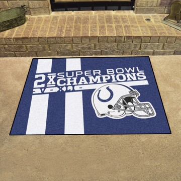 Picture of Indianapolis Colts Dynasty All-Star Mat