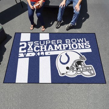 Picture of Indianapolis Colts Dynasty Ulti-Mat Rug