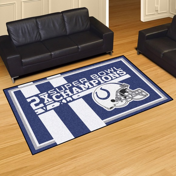 Picture of Indianapolis Colts Dynasty 5x8 Rug