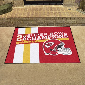 Picture of Kansas City Chiefs Dynasty All-Star Mat