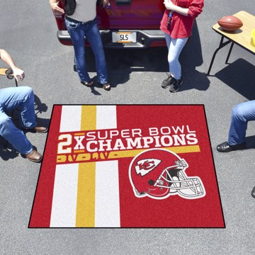 Picture of Kansas City Chiefs Dynasty Tailgater Mat