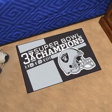 Picture of Las Vegas Raiders Dynasty Starter Mat