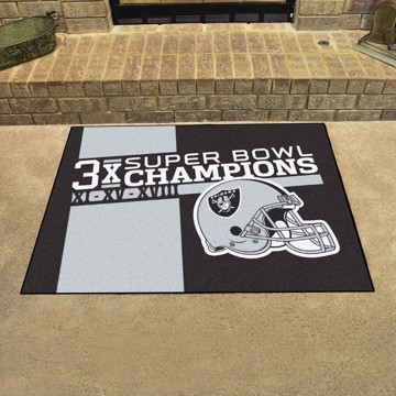 Picture of Las Vegas Raiders Dynasty All-Star Mat
