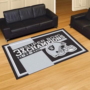Picture of Las Vegas Raiders Dynasty 5X8 Rug
