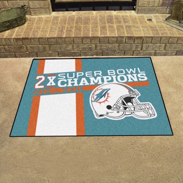 Picture of Miami Dolphins Dynasty Tailgater Mat