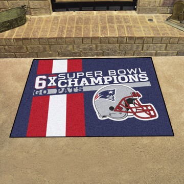 Picture of New England Patriots Dynasty All-Star Mat