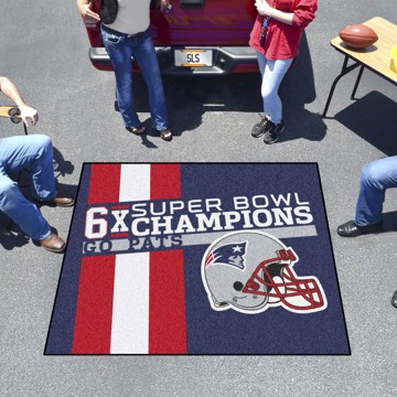 Picture of New England Patriots Dynasty Tailgater Mat
