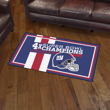Picture of New York Giants Dynasty 3x5 Rug