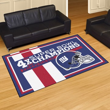 Picture of New York Giants Dynasty 5x8 Rug