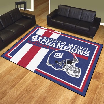 Picture of New York Giants Dynasty 8x10 Rug