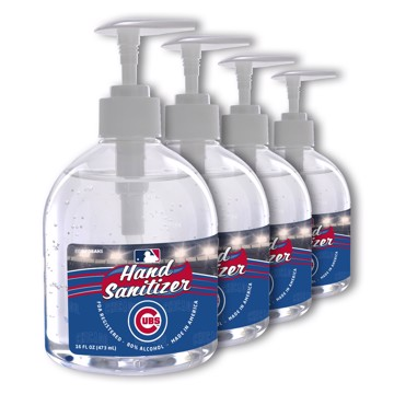 Picture of Chicago Cubs 16 oz. Hand Sanitizer